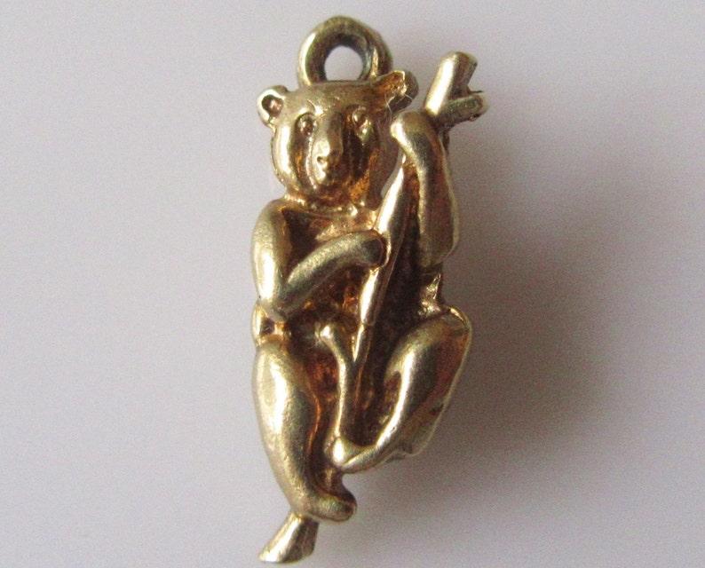 9ct Gold Koala Bear Charm or Pendant