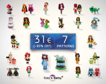 Pattern Pack - 7 Patterns of your choice