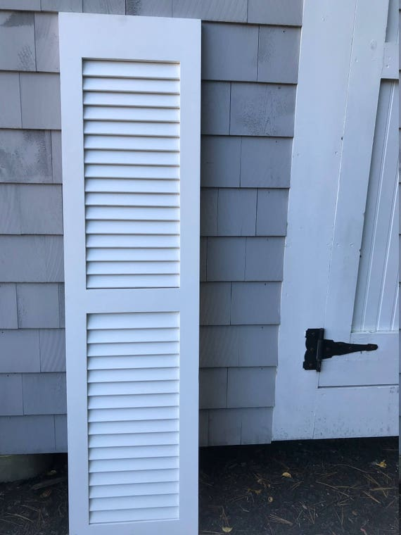 Custom made AZEK Composite exterior shutters | Etsy