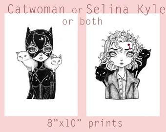 Gotham Selena Kyle Eyes Clipart