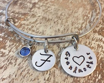 Gift for Mom - Gift for Grandma - Family Tree Bracelet - Personalized Jewelry for Mom - Jewelry for Grandma - Family Tree Jewelry