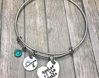 Graduation Gift - Mother of the Bride - Mother of bride - Wedding - Bracelet - Mother of bride gift - Charm bracelet - Mother bracelet -