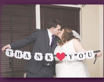 Purple Thank You Picture Card