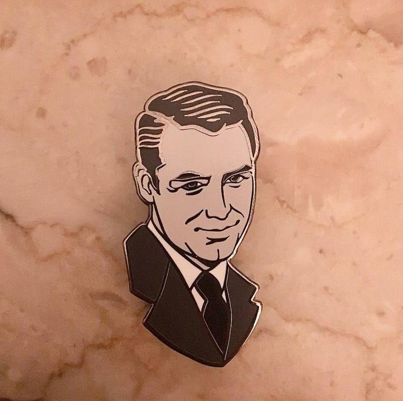 Cary Grant Pin image 0
