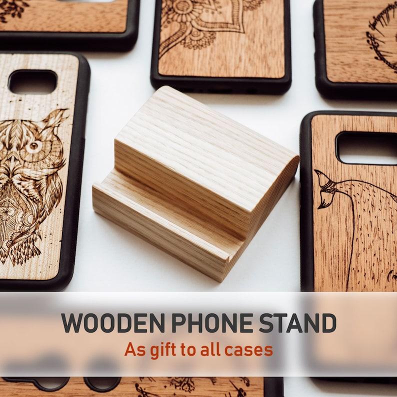 LG G6 G7 G8 Thinq Real Mahogany Wood LG V20 V30 V40 V50