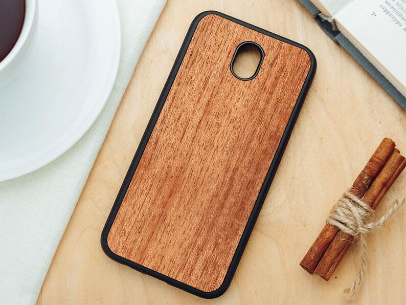 timeless design 375c6 3547a All J-series Real Wood Natural Merbau Wood Case Samsung Galaxy J3 J4 J5 J6  J6+ J7 | 2016 | 2017 | 2018 | Emerge Star V Crown Refine Perx
