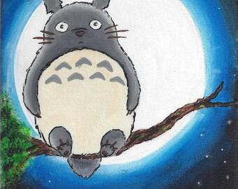Totoro Hand Painted
