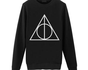 DEATHLYHALLOWS / Deathly Hallows Sweatshirt Sweat / Tumblr Inspired