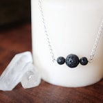 Lava Rock Essential Oil Diffuser Necklace or Bracelet