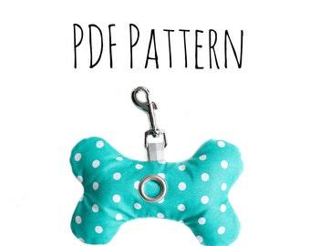 Bone Poop Bag Dispenser PDF Pattern