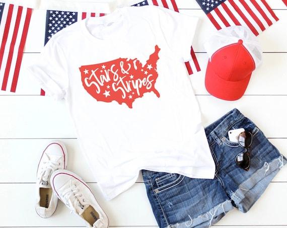 Stars and Stripes Tee Shirt