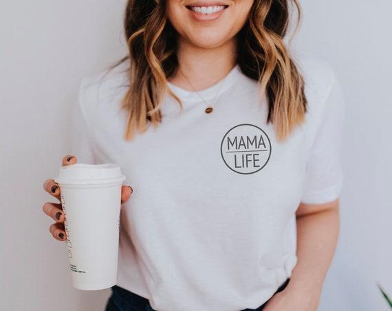 Mama Life Graphic Tee