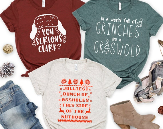 Christmas Vacation Graphic Tee Shirt