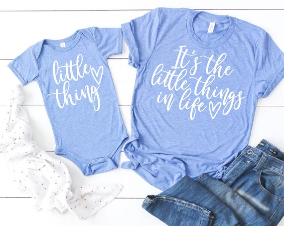 Its the Little Things in Life | Matching Mommy and Me Set Graphic Tee