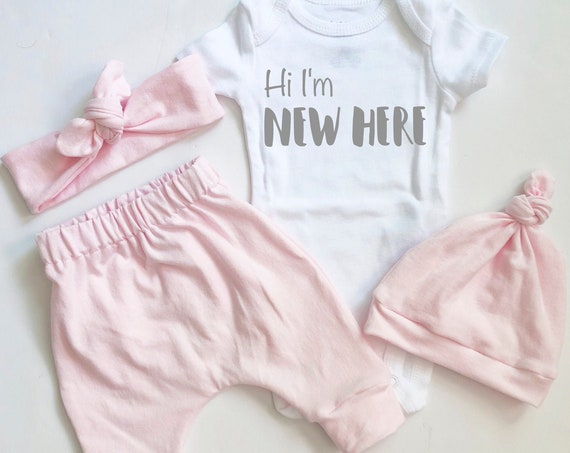 Meet Baby Pink Coming Home Outfit