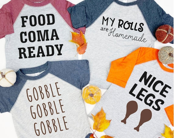 Kids Thanksgiving Tee Shirts