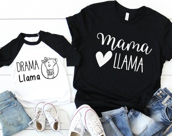 Mama Llama Drama Llama Mommy and Me Set