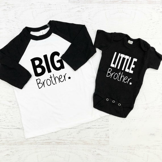 Big Brother Little Brother Sibling Shirts