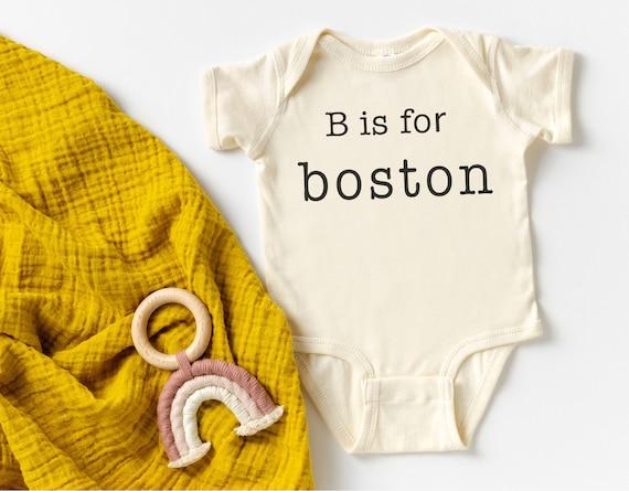 Baby Name Alphabet Bodysuit | Letter Name Toddler Kids Shirt