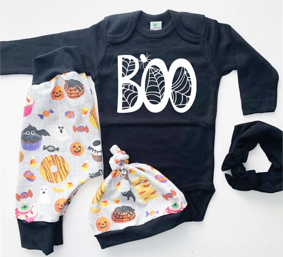 My First Halloween Outfit Boo | Trick or Treat