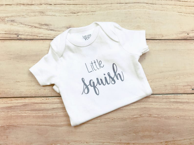 Little Squish Bodysuit / Gender Neutral / Unisex / Newborn image 0
