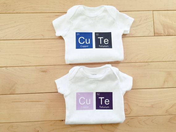 Cute Periodic Elements Bodysuit