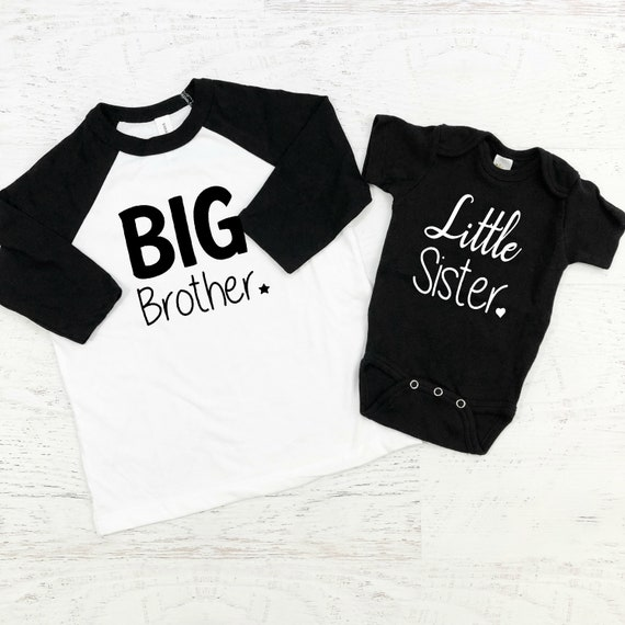 Big Brother Little Sister Sibling Shirts