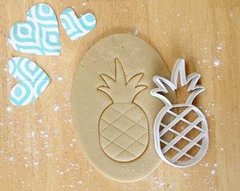 Pineapple Cookie Cutter 3D Printed  | Summer Cookie Cutter / Tropical  Cookie Cutter / Beach Cookie Cutter / Hawaii Cookie Cutter
