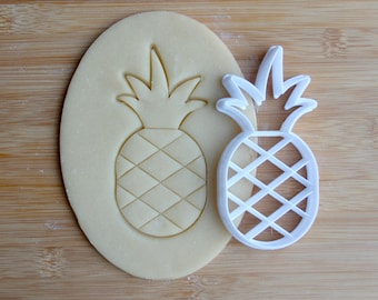 Pineapple Cookie Cutter 3D Printed  | Summer Cookie Cutter / Tropical  Cookie Cutter / Beach Cookie Cutter / Hawaii Cookie Cutter