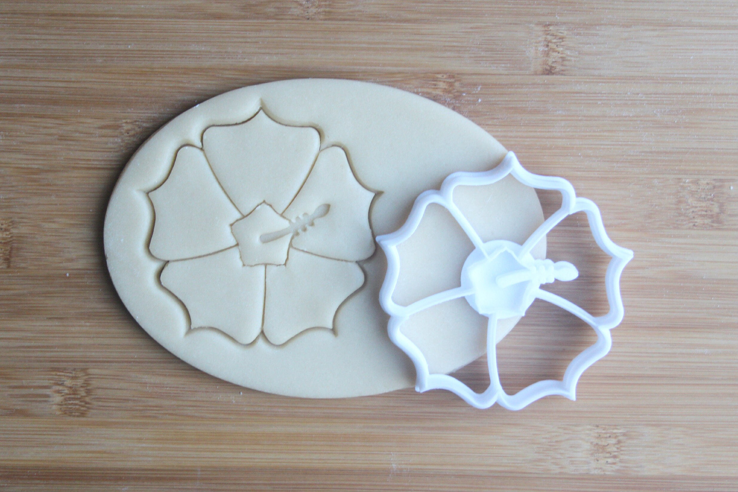 Tropical Hawaii Flower 3d Printed Cookie Cutter Hibiscus Etsy