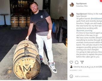 165-Day  Bourbon Barrel Aged Laochatou (25g)