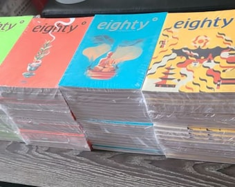 Eighty Degrees magazine issues #1-6