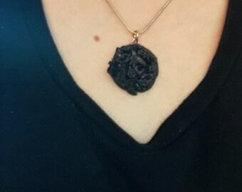 Gothic Rose Pendant