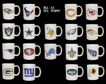 classic awesome nfl coffee cups all 32 cool