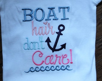 Nautical,  anchor, bodysuit, baby girl, Sailboat, beach, lake, boat hair,  custom, baby shower gift, new baby gift, baby girl clothes,