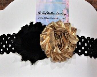 Missouri, Missouri headband, baby headband, baby headbands, girls headbands, black, gold, headband, baby shower giftbaby girl gift