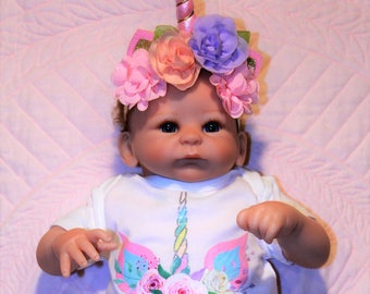 Unicorn, Unicorn bodysuit, baby girl clothes, Unicorn headband, baby girl gift, girl baby shower, baby shower gift, new baby gift,