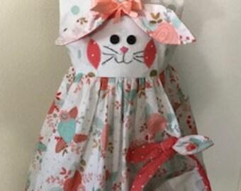 Easter dress, toddler dress, girls clothes, Easter bunny, Easter, bunny ears, bunny headband, Easter headband, Easter purse, bunny purse