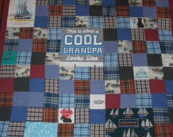 Memory Quilt, Memory blanket, Personalized quilt, tshirt quilt, t-shirt quilt, quilt, custom, handmade, recycled clothes, repurposed clothes