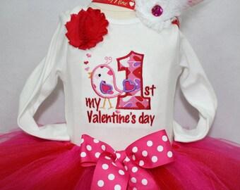 Valentines Day, Valentine Day, first Valentines Day, 1st Valentines Day, baby girl clothes, bodysuit, baby tutu, red, pink, leg warmers
