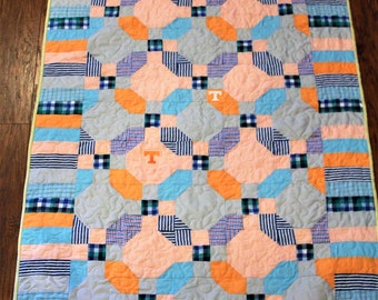 Quilts, Memory quilts, Memory quilt, clothing quilt, shirt quilt, recycled clothing, dad's shirts,Tennessee, sympathy gift, gift for mom,