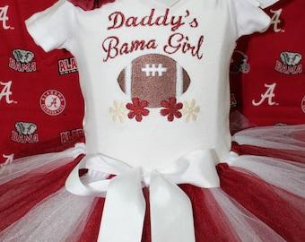 Alabama, roll tide, crimson, bodysuit, football, daddy, baby girl clothes, baby tutu, baby headband, baby shower gift, tshirt,t shirt