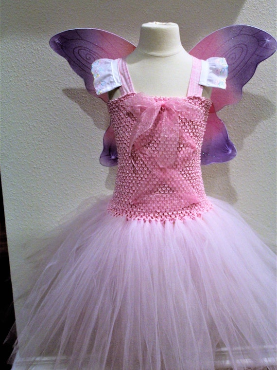 8bfcc18be Pink butterfly pink fairy costume fairy princess costume | Etsy