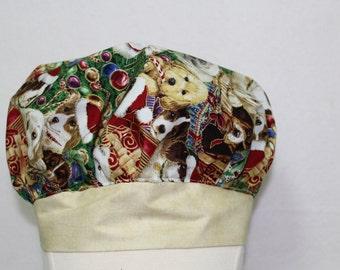 Nurse gift, nurse, scrub hat, scrub cap, scrub caps, scrub hats, surgical cap, gift for her, dog lover gift, gift for women, Christmas gift