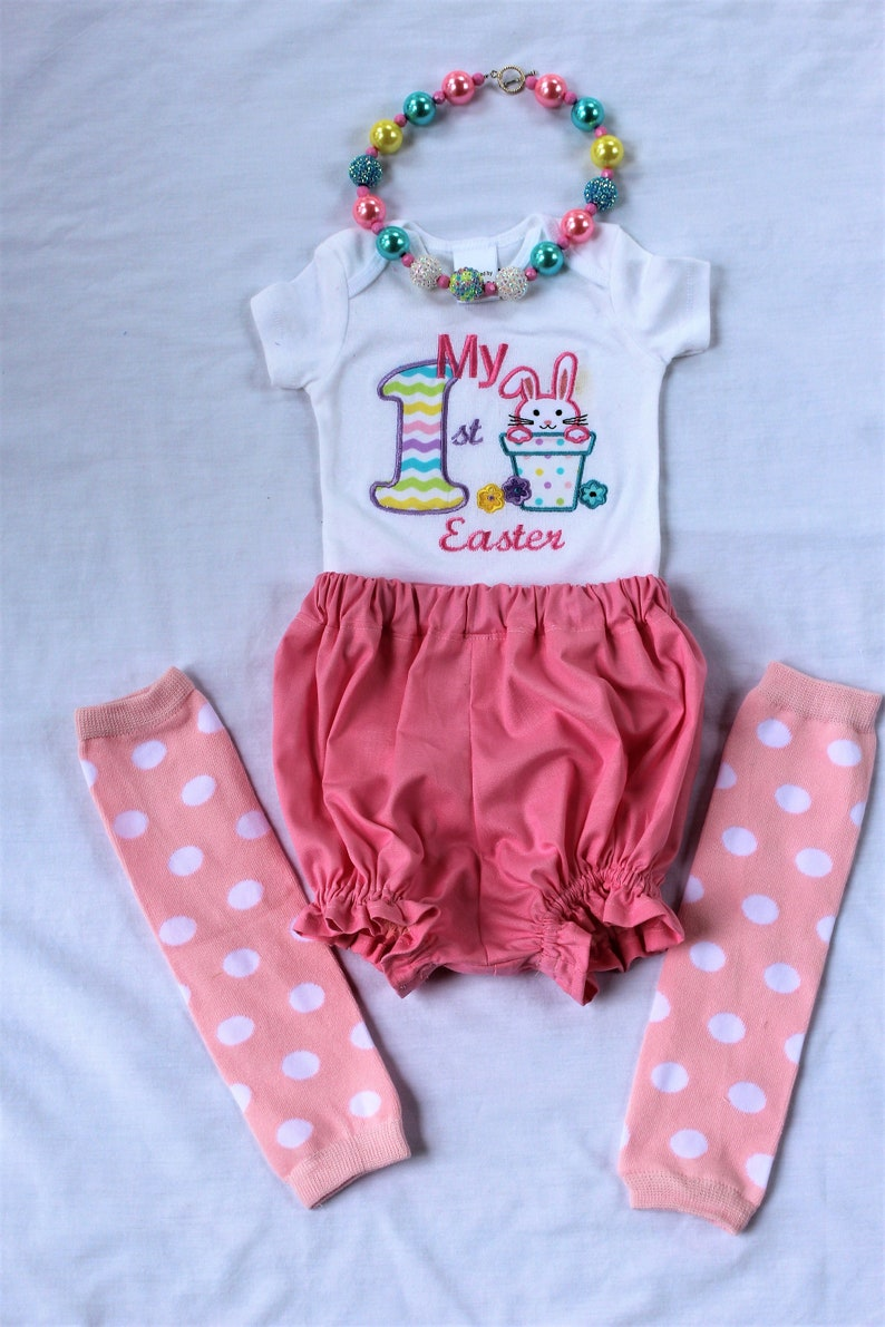 ba470de32500 My 1st Easter outfit first Easter outfit baby girl 1st