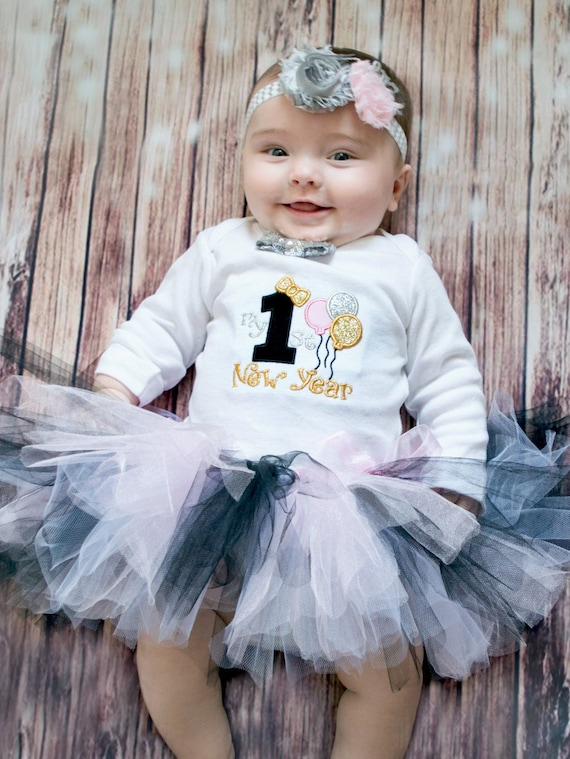 da72bc2fe54f Baby girl New Years outfit New Years eve baby girl outfit | Etsy