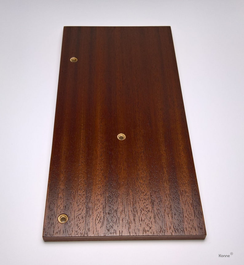 TD-226 Tone Arm Board made of plywood with mahogany veneer for Thorens TD 127