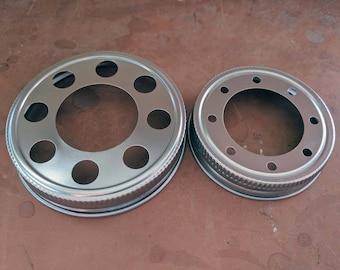 Stainless Steel Lighting Lid for Mason Jars / Light Lid for Regular or Wide Mouth Mason Jars