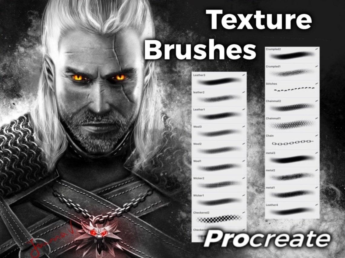 Texture Brushes Procreate image 0