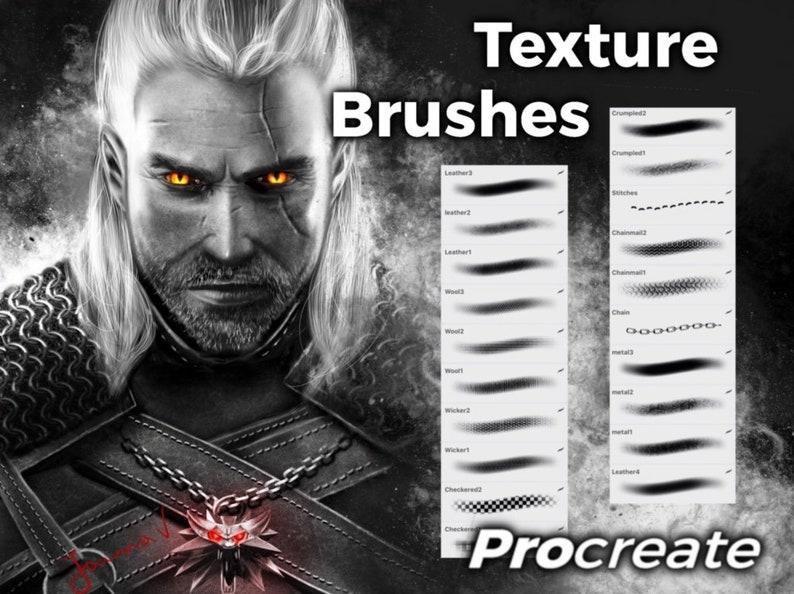 Texture Brushes - Procreate